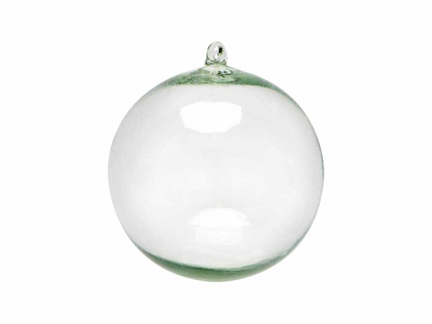 "12"" Clear Glass Sphere"