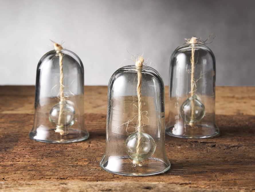 Recycled Glass Bells (set of 3), slide 1 of 1