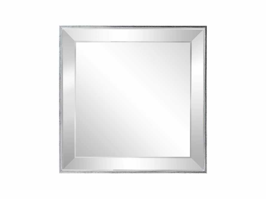 "FELICITY 20"" SQUARE MIRROR IN SILVER, slide 2 of 2"