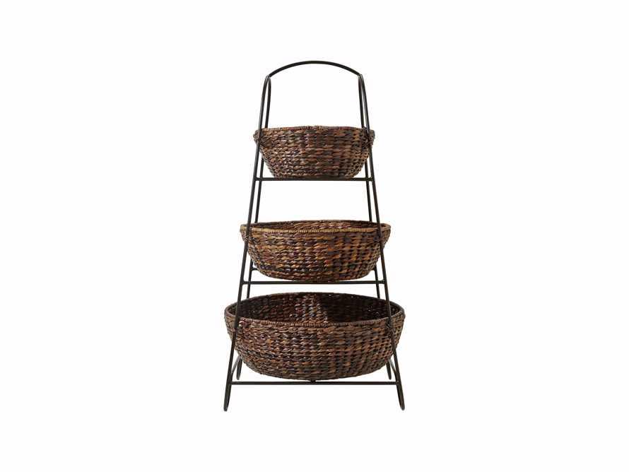 """42"""" Three Tier Storage Basket, slide 1 of 1"""