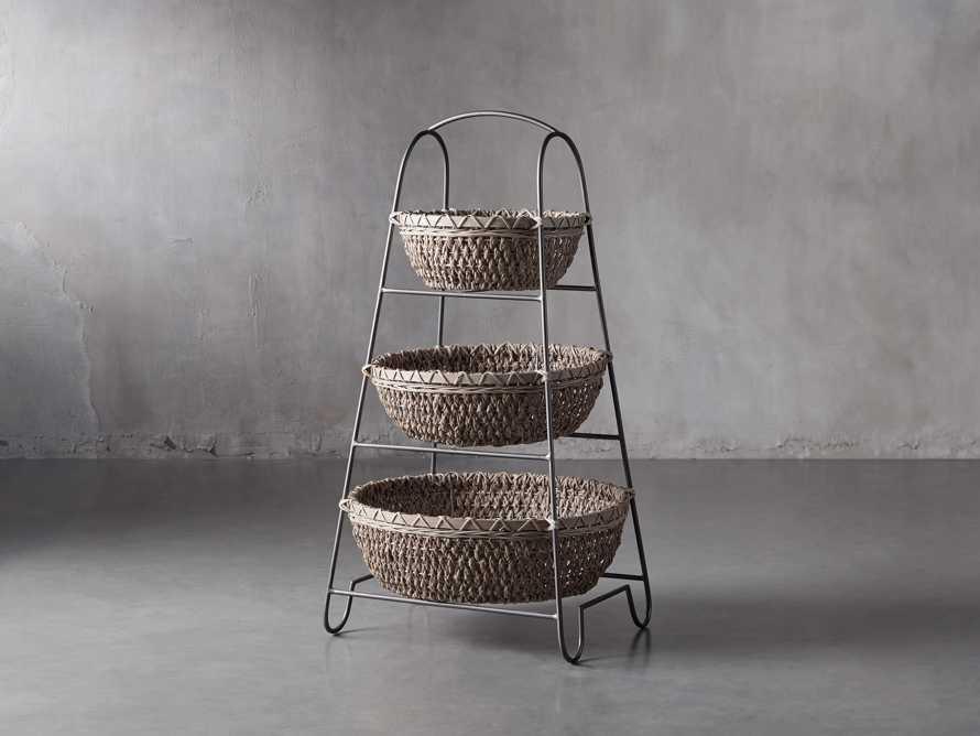 Three Tier Light Storage Basket, slide 1 of 3