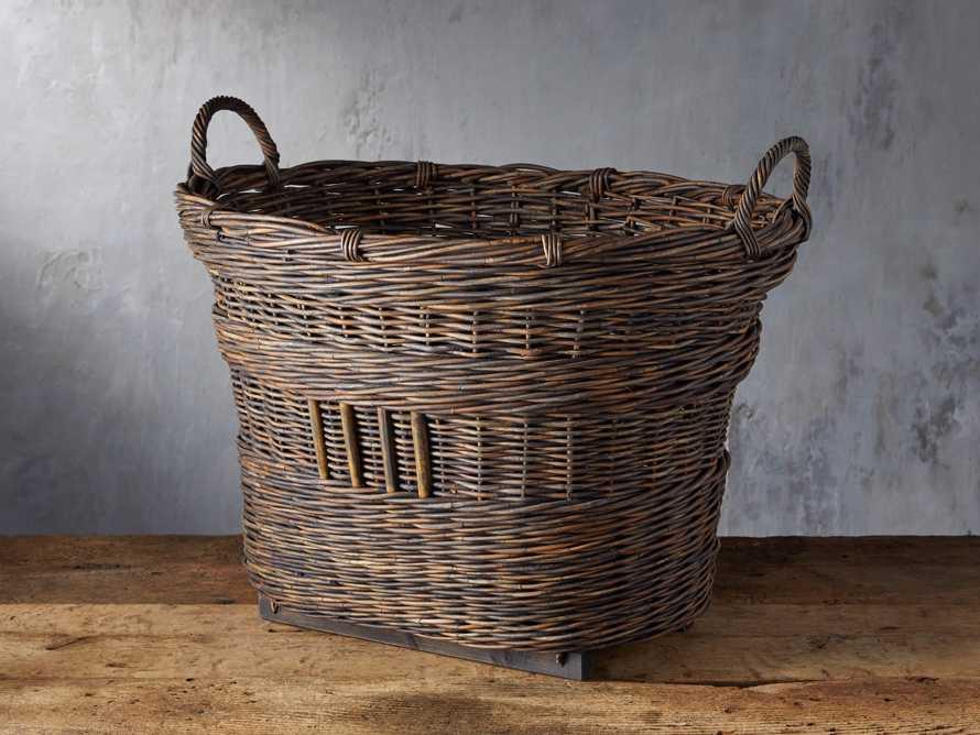 Vintage Oval Basket, slide 1 of 3