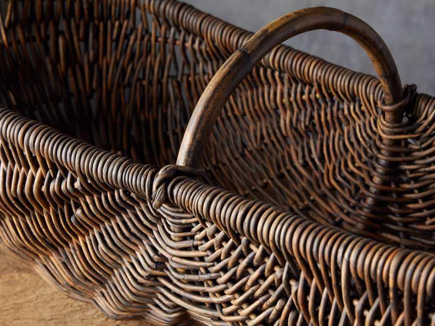 Vintage Basket with Handle, slide 2 of 4