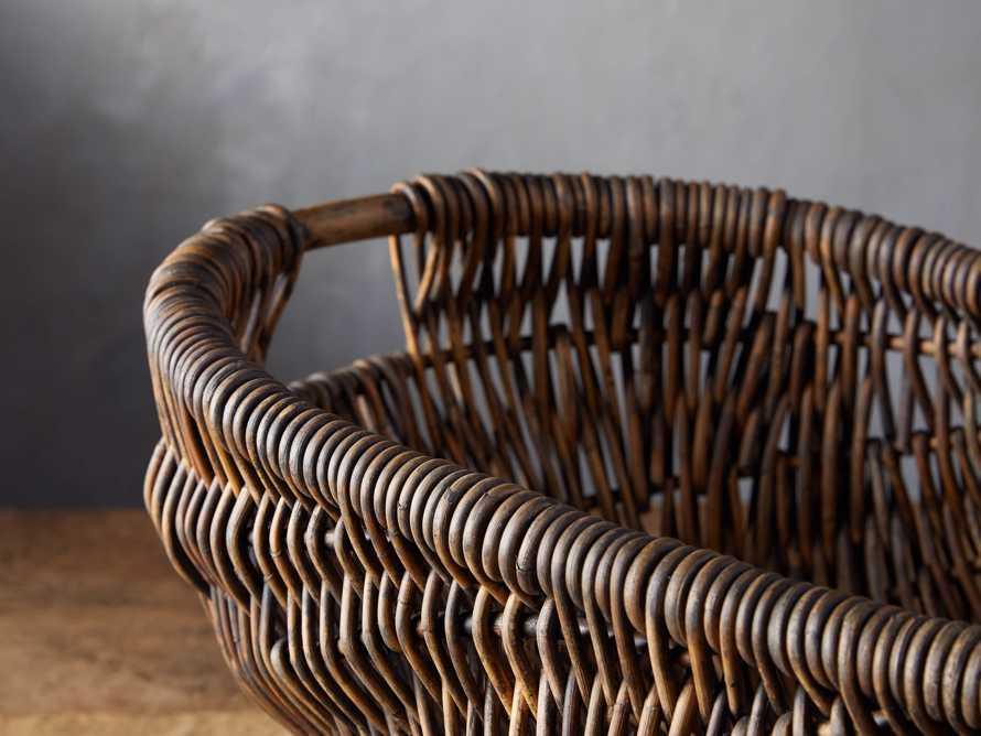Vintage Basket with Handle, slide 3 of 4