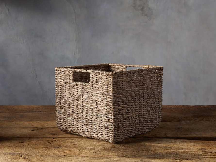 Square Entry Basket, slide 1 of 3