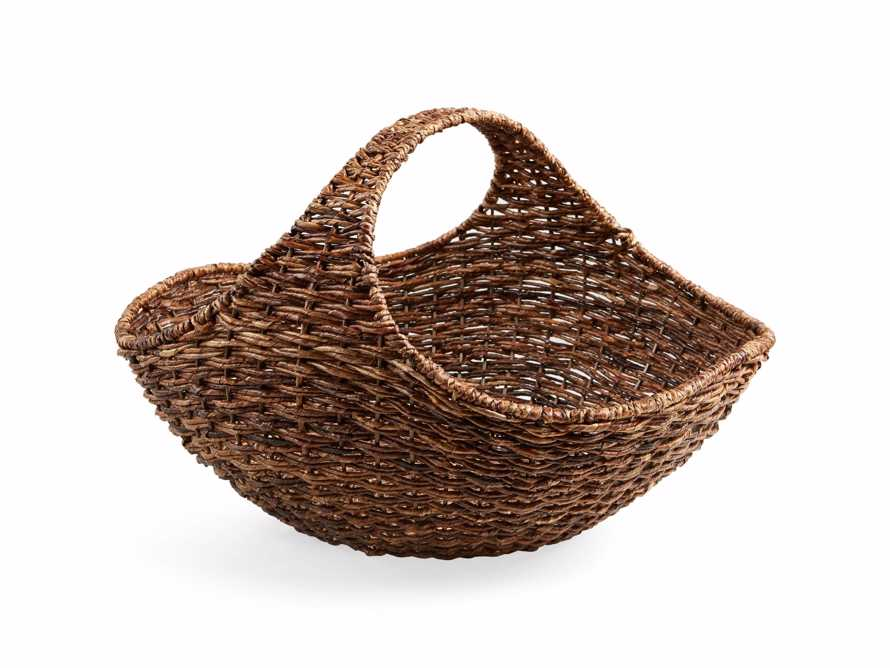 Woven Gathering Basket, slide 1 of 2