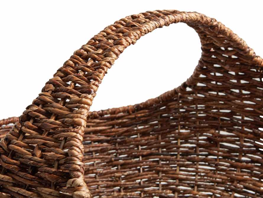 Woven Gathering Basket, slide 2 of 2