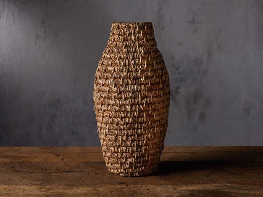 Coil Basket Vase, slide 1 of 3