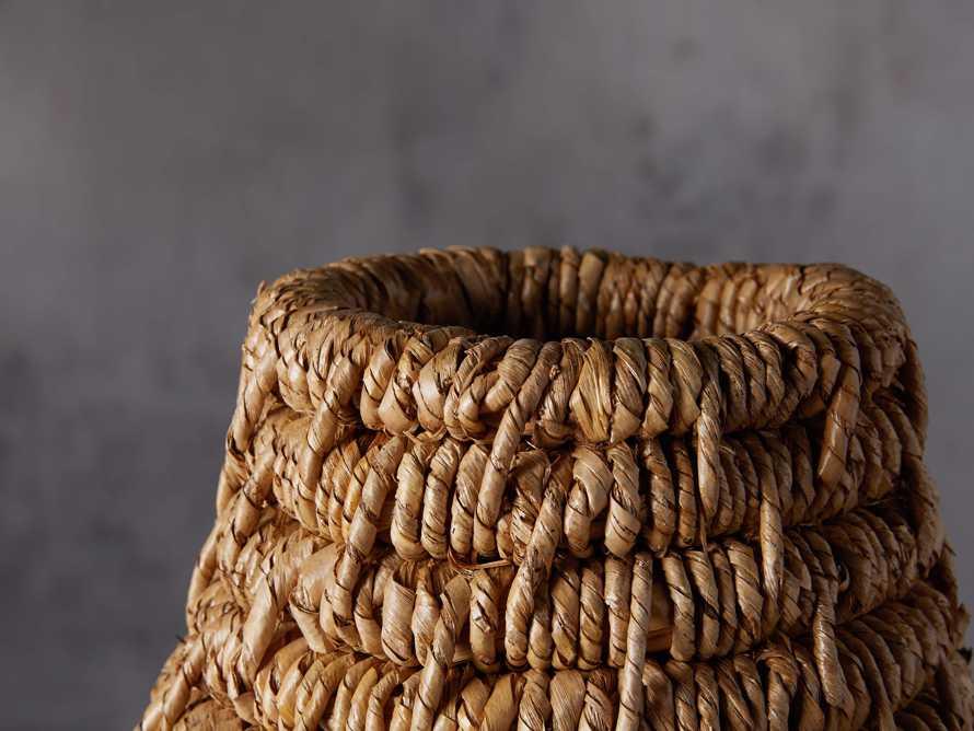 Coil Basket Vase, slide 3 of 3