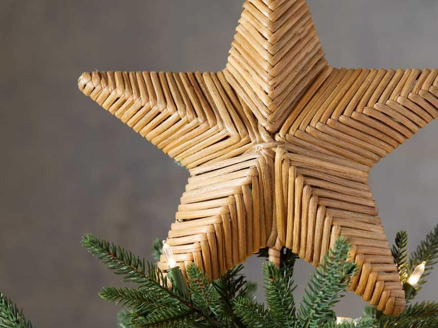 Rattan Star Tree Topper, slide 2 of 2