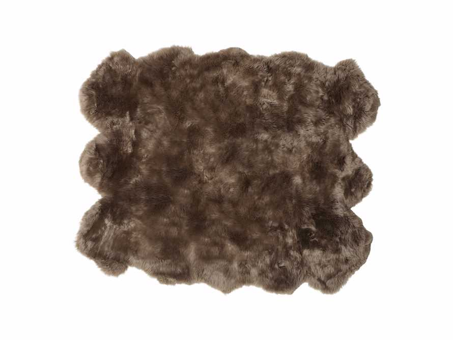 Sheepskin Wool 6' x 5' Rug, slide 2 of 2