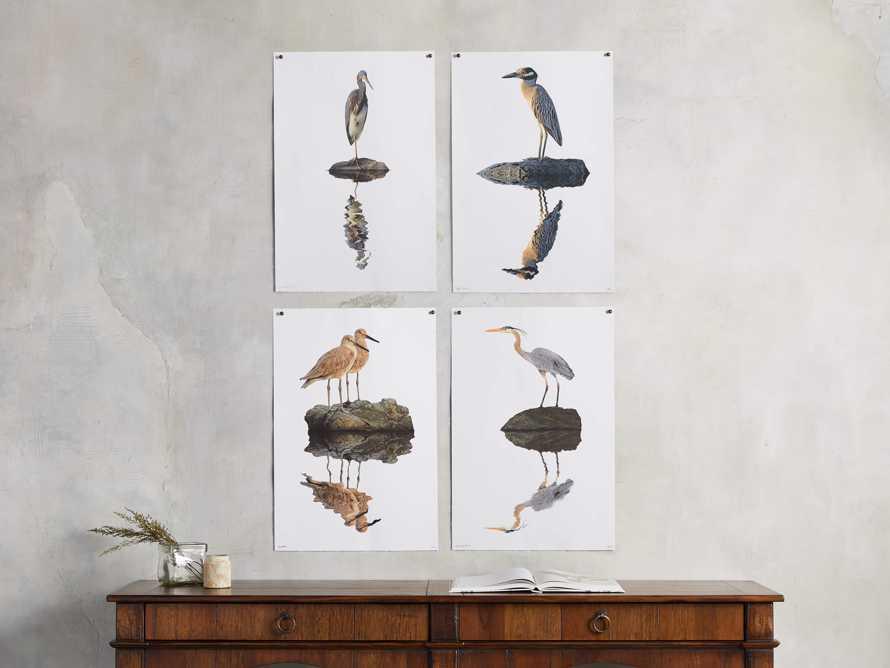 Blue Heron Print, slide 3 of 4