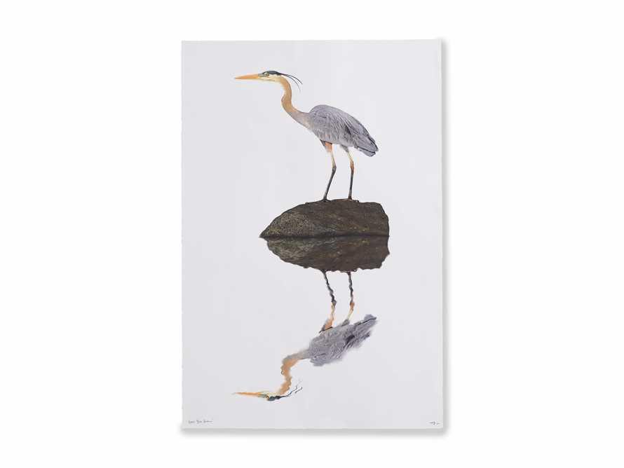 Blue Heron Print, slide 4 of 4