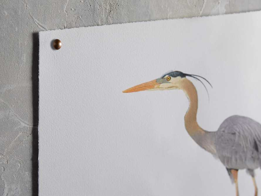 Blue Heron Print, slide 2 of 4