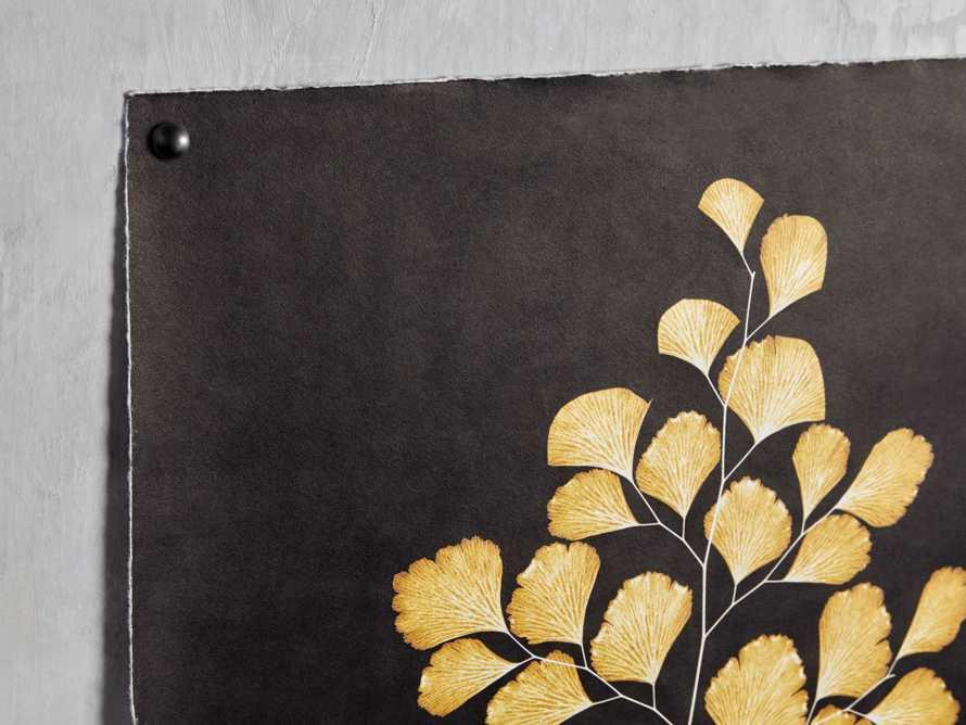 Goldern Fern Framed Print I, slide 2 of 7