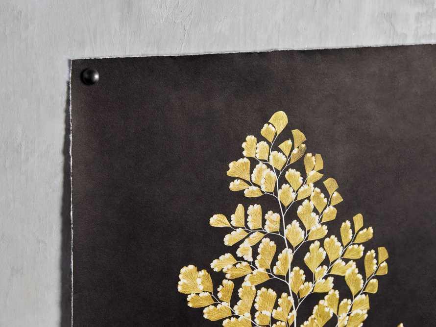 Goldern Fern Framed Print IV, slide 2 of 7