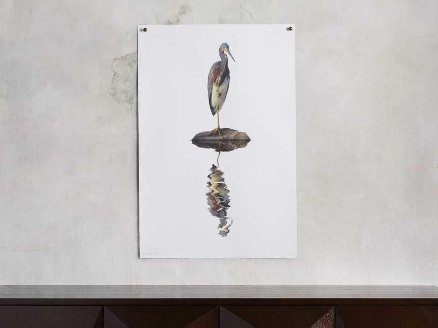 Tricolored Heron Print, slide 1 of 4