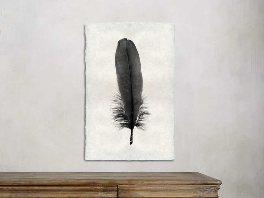 Feather Study Print VI, slide 1 of 2