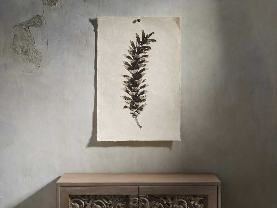 "Eastern White Pine Cone 20"" Print"