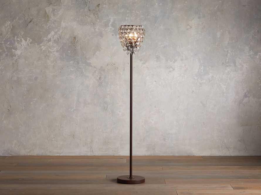 Petals Brilliant Floor Lamp, slide 1 of 6