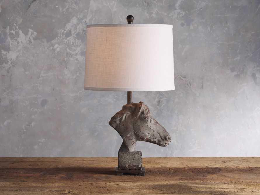 Horse Table Lamp, slide 1 of 6