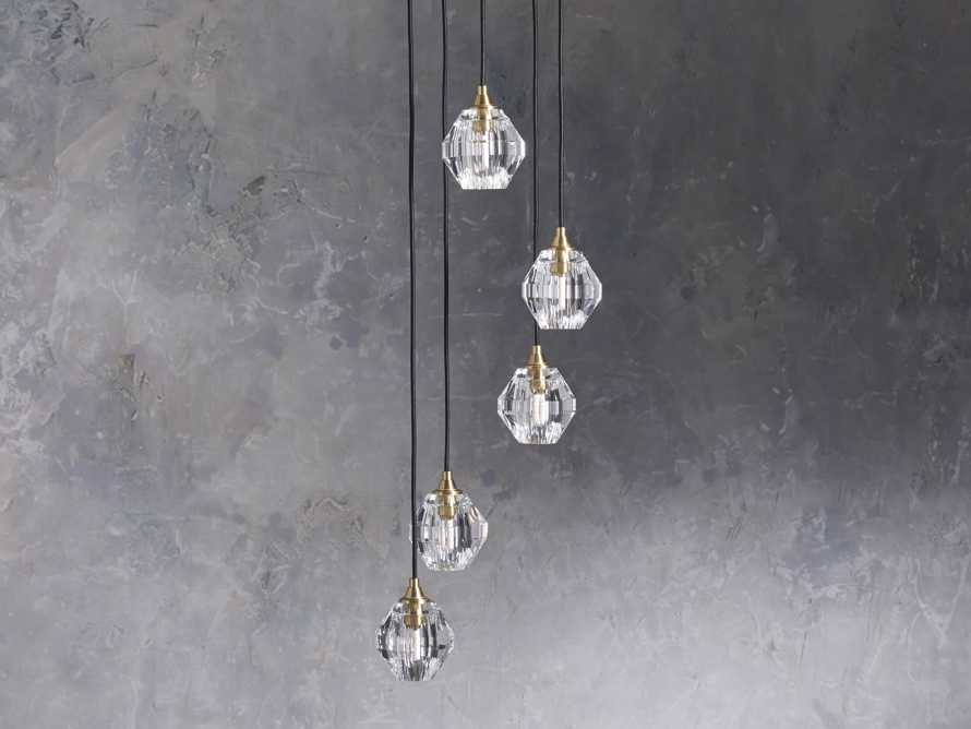Amoroso 5 Light Chandelier, slide 2 of 7