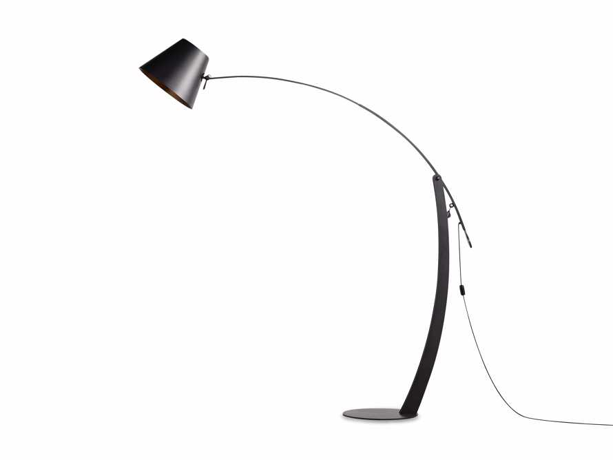 Arcadia Arc Floor Lamp in Bronze, slide 7 of 7