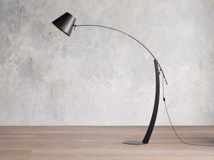 Arcadia Arc Floor Lamp in Bronze, slide 2 of 7