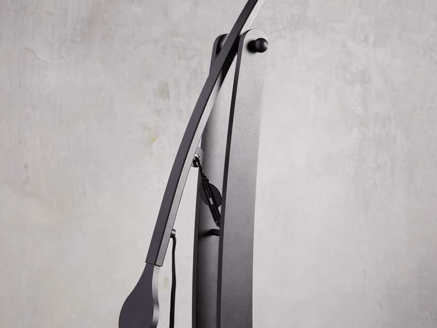 Arcadia Arc Floor Lamp in Bronze, slide 5 of 7