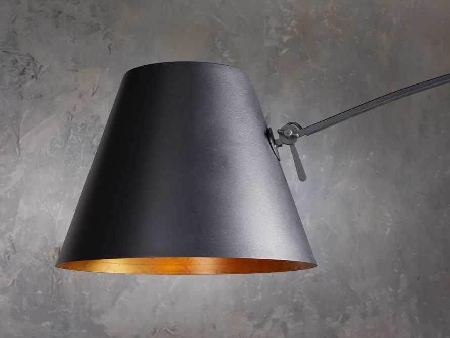 Arcadia Arc Floor Lamp in Bronze, slide 4 of 7