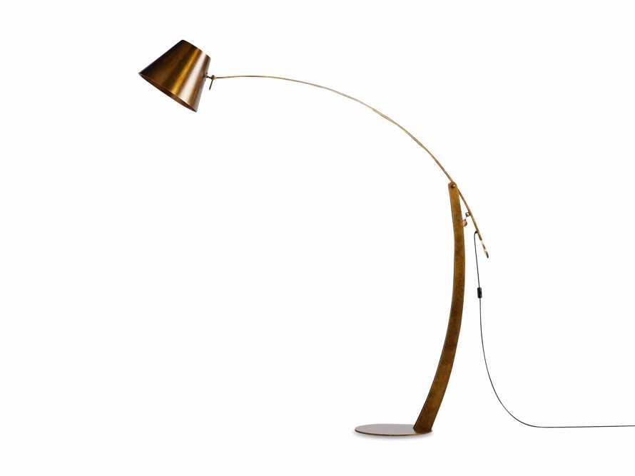 Arcadia Arc Floor Lamp in Bronze, slide 7 of 7