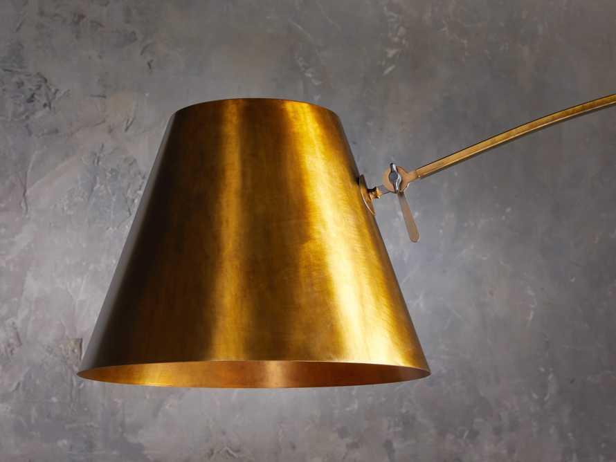 Arcadia Arc Floor Lamp in Bronze, slide 4 of 7