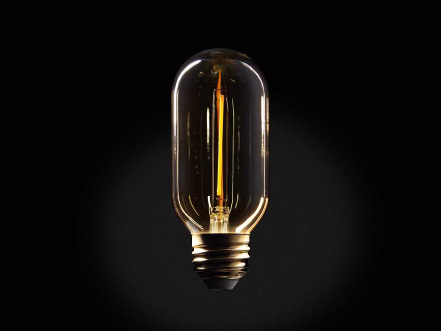 LED T14 Filament E26 Bulb, slide 1 of 1