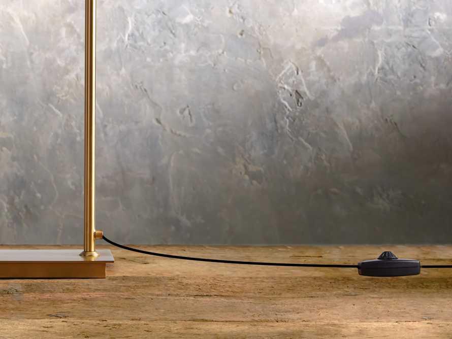 Axle Brass Task Table Lamp, slide 3 of 6
