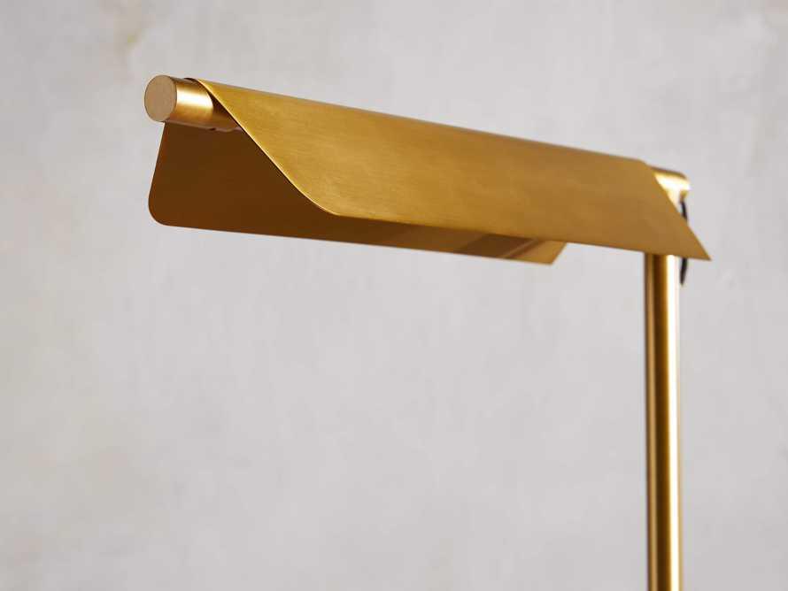 Axle Brass Task Table Lamp, slide 4 of 6