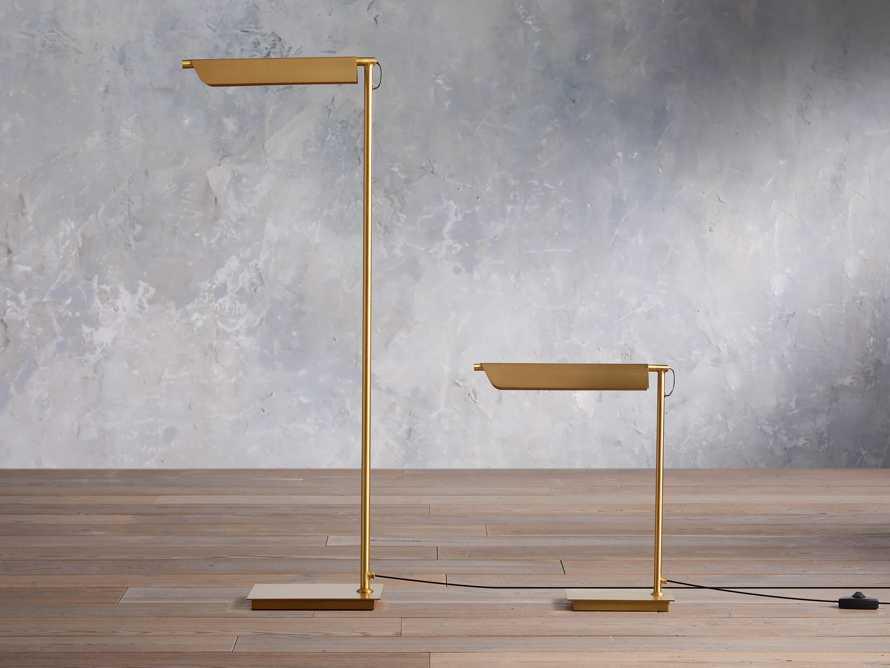 Axle Brass Task Floor Lamp, slide 5 of 8