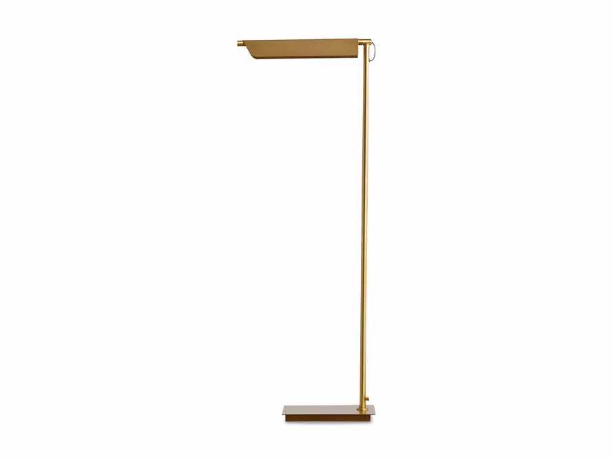 Axle Brass Task Floor Lamp, slide 8 of 8