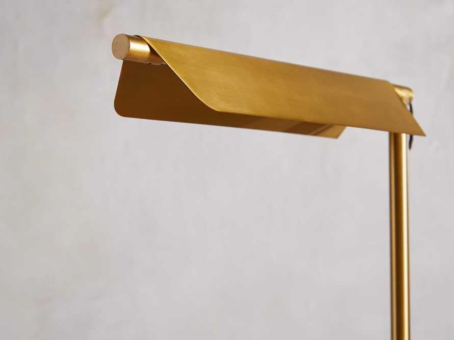 Axle Brass Task Floor Lamp, slide 4 of 8