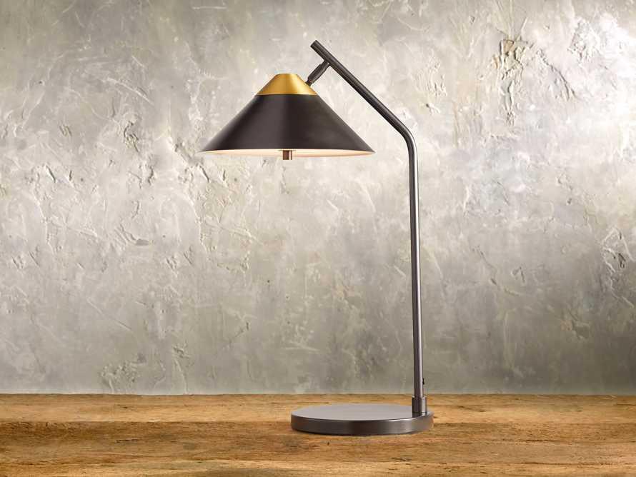 Marquee Bronze Task Table Lamp, slide 1 of 6