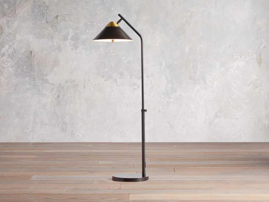 Marquee Bronze Task Floor Lamp, slide 1 of 7