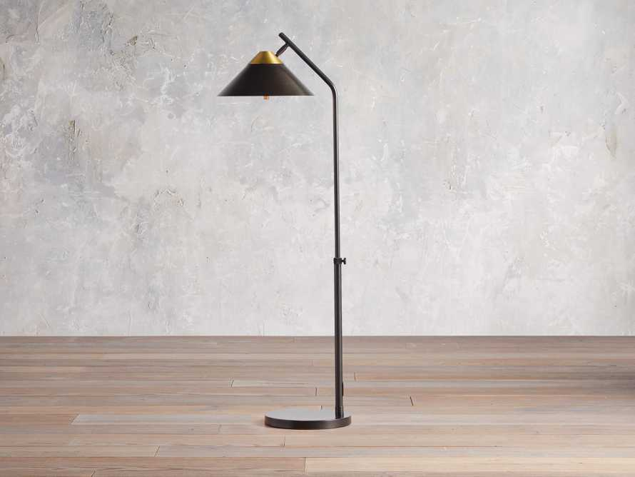 Marquee Bronze Task Floor Lamp, slide 2 of 7