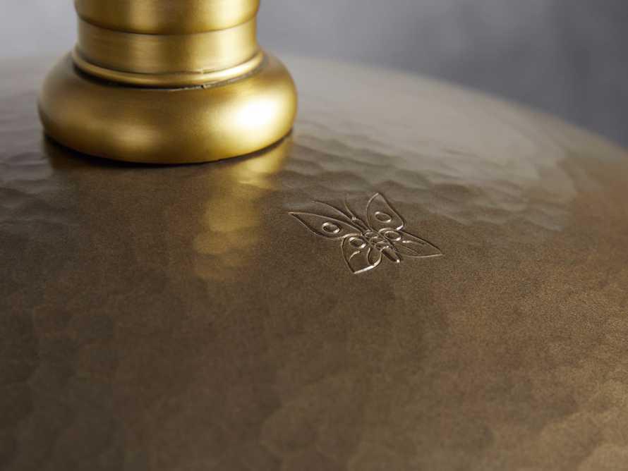 "Brass 24"" Dome Pendant, slide 4 of 7"