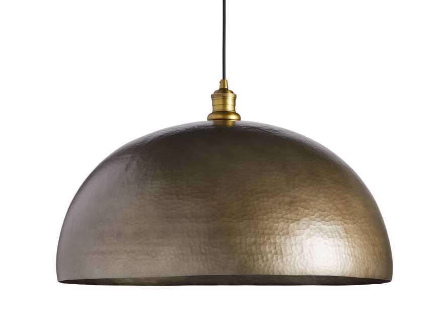 "Brass 24"" Dome Pendant, slide 7 of 7"