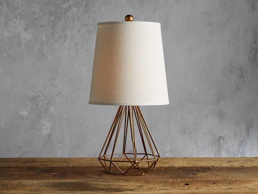 Bowery Geometric Table Lamp, slide 1 of 4