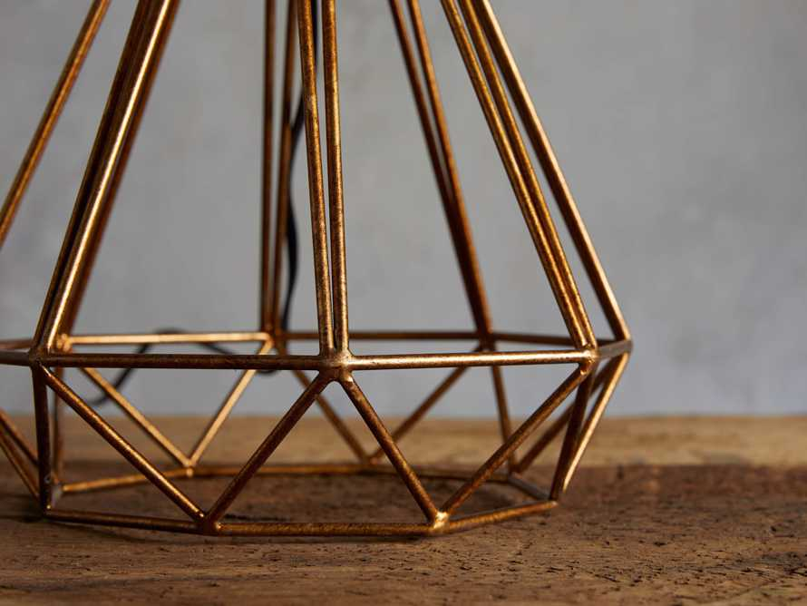 Bowery Geometric Table Lamp, slide 3 of 4