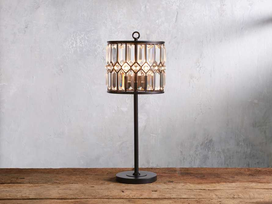 Ursula Iron Table Lamp, slide 1 of 5