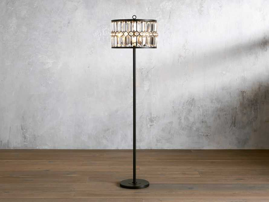 Ursula Iron Floor Lamp, slide 1 of 4