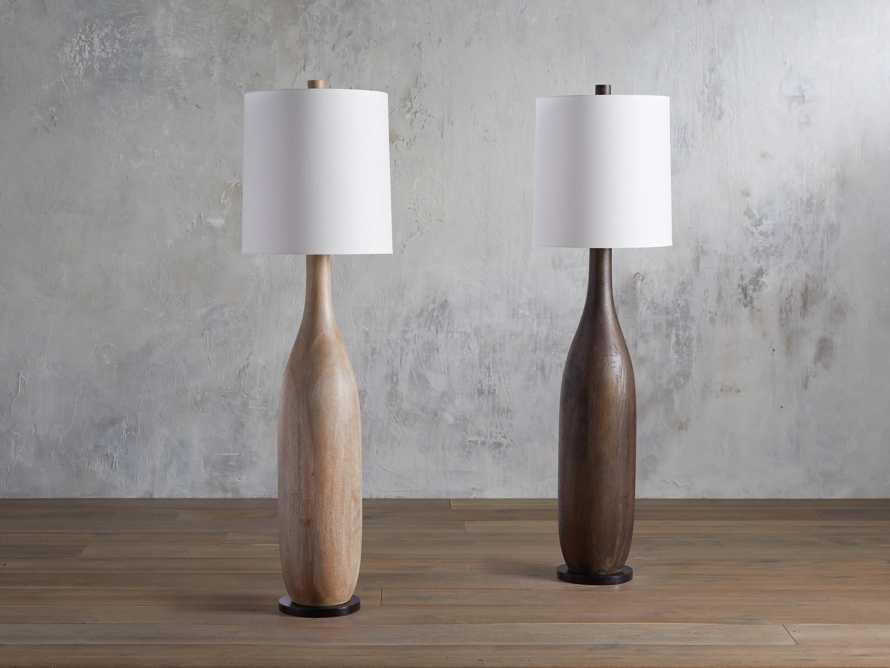 Briar Floor Lamp in Espresso, slide 4 of 6