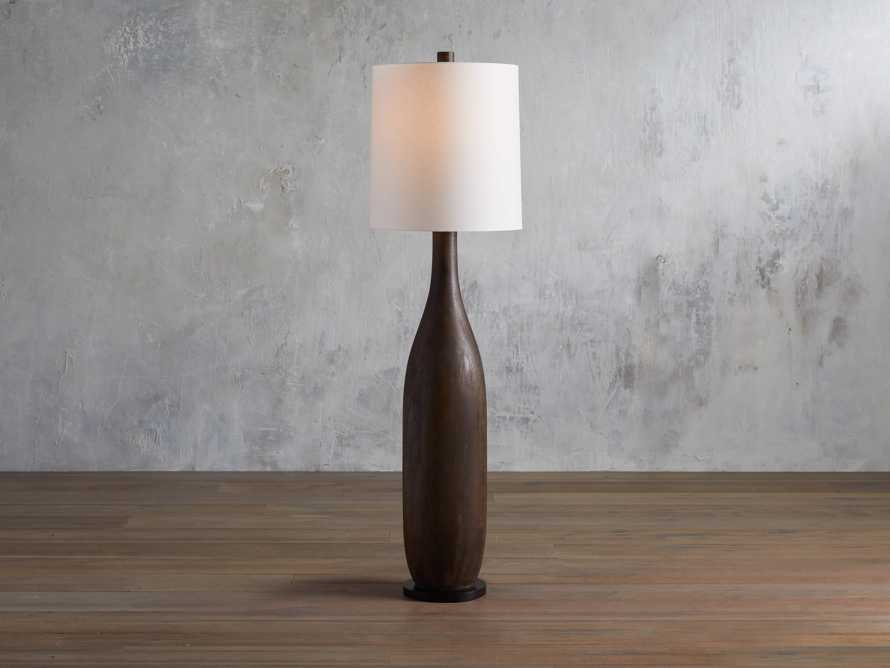 Briar Floor Lamp in Espresso, slide 1 of 5