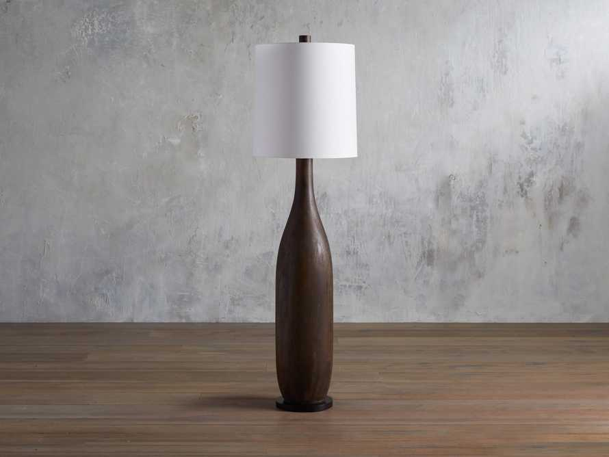 Briar Floor Lamp in Espresso, slide 2 of 5